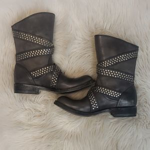 Old Gringo Leather Studded Boots NWOT